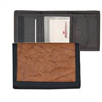 Florida Marlins Leather/Nylon Embossed Tri-Fold Wallet