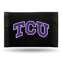 TCU Horned Frogs Wallet Nylon Trifold