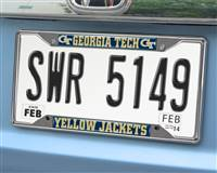 "Georgia Tech License Plate Frame 6.25""x12.25"""