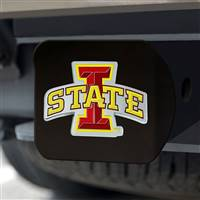 "Iowa State University Hitch Cover - Color on Black 3.4""x4"""