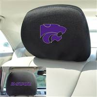 "Kansas State University Head Rest Cover 10""x13"""