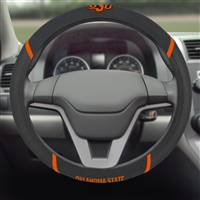 "Oklahoma State University Steering Wheel Cover 15""x15"""