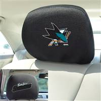 "NHL - San Jose Sharks Head Rest Cover 10""x13"""