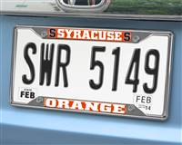 "Syracuse University License Plate Frame 6.25""x12.25"""