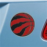 "NBA - Toronto Raptors Color Emblem  3""x3.2"""