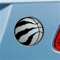 "NBA - Toronto Raptors Chrome Emblem 3""x3.2"""