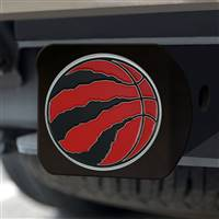 "NBA - Toronto Raptors Hitch Cover - Color on Black 3.4""x4"""