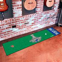 NHL - St. Louis Blues 2019 Stanley Cup Champions Putting Green Mat