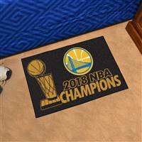 "NBA - Golden State Warriors 2018 NBA Finals Champions Starter Mat 19""x30"""
