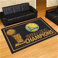 "NBA - Golden State Warriors 2018 NBA Finals Champions 5x8 Rug 59.5""x88"""