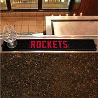 "NBA - Houston Rockets Drink Mat 3.25""x24"""