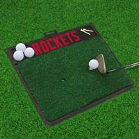 "NBA - Houston Rockets Golf Hitting Mat 20"" x 17"""