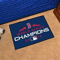 "Boston Red Sox 2018 World Series Champions Starter Rug 19""x30"""