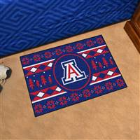"University of Arizona Holiday Sweater Starter Mat 19""x30"""