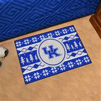 "University of Kentucky Holiday Sweater Starter Mat 19""x30"""