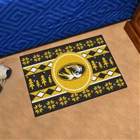 "University of Missouri Holiday Sweater Starter Mat 19""x30"""