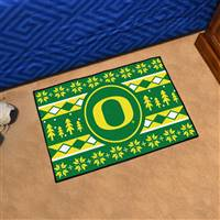 "University of Oregon Holiday Sweater Starter Mat 19""x30"""