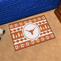 "University of Texas Holiday Sweater Starter Mat 19""x30"""