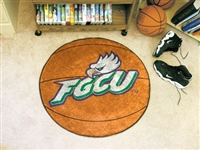 "Florida Gulf Coast University Basketball Rug, 29"" Diameter"