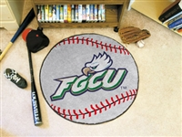 "Florida Gulf Coast University Baseball Rug, 29"" Diameter"