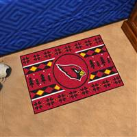 "NFL - Arizona Cardinals Holiday Sweater Starter Mat 19""x30"""