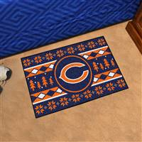 "NFL - Chicago Bears Holiday Sweater Starter Mat 19""x30"""