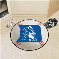"Duke University Baseball Mat 27"" diameter"