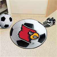"University of Louisville Soccer Ball Mat 27"" diameter"