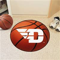 "Dayton Flyers Basketball Rug 29"" diameter"