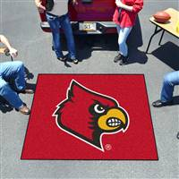 "University of Louisville Tailgater Mat 59.5""x71"""