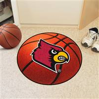 "University of Louisville Basketball Mat 27"" diameter"