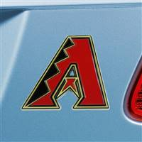 "Arizona Diamondbacks Color Emblem  3""x3.2"""