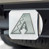 "Arizona Diamondbacks Hitch Cover - Chrome 3.4""x4"""