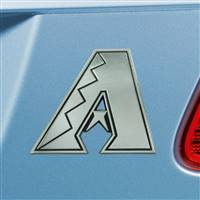 "Arizona Diamondbacks Chrome Emblem 3""x3.2"""