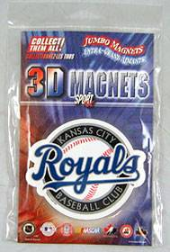 Kansas City Royals Jumbo 3D Magnet