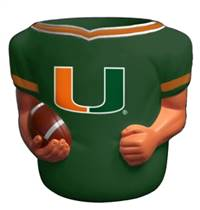 Miami Hurricanes Jersey Can Cooler