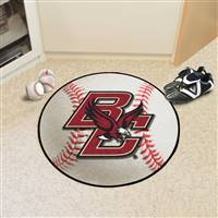 "Boston College Baseball Rug 29"" diameter"