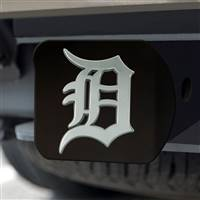 "Detroit Tigers Hitch Cover - Black 3.4""x4"""