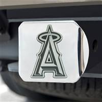 "Los Angeles Angels Hitch Cover - Chrome 3.4""x4"""