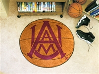 "Alabama A&M Bulldogs Basketball Rug 29"" Diameter"