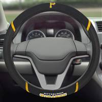 "Pittsburgh Pirates Steering Wheel Cover 15""x15"""