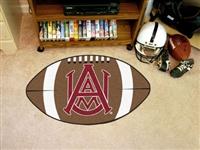 "Alabama A&M Bulldogs Football Rug 22""x35"""