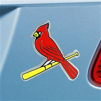 "St. Louis Cardinals Color Emblem  3""x3.2"""