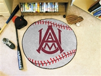 "Alabama A&M Bulldogs Baseball Rug 29"" Diameter"