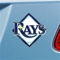 "Tampa Bay Rays Color Emblem  3""x3.2"""