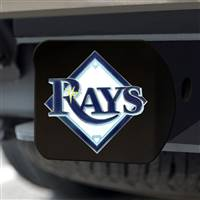 "Tampa Bay Rays Color Hitch - Black 3.4""x4"""