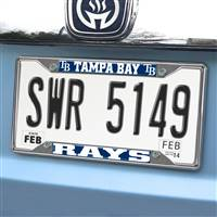 "Tampa Bay Rays License Plate Frame 6.25""x12.25"""