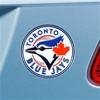 "Toronto Blue Jays Color Emblem  3""x3.2"""