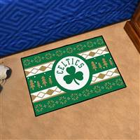 "NBA - Boston Celtics Holiday Sweater Starter Mat 19""x30"""