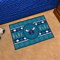 "NBA - Charlotte Hornets Holiday Sweater Starter Mat 19""x30"""